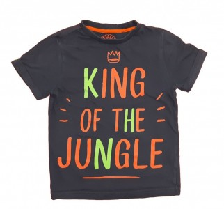 Majica z napisom King of the Jungle 5-6 L